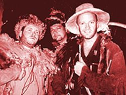 From left, Jeremie J. McCubbin as Mace, Gene Ganssle as Jeb and Chris Eriksen as Brock in A Walk in the Sky.