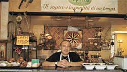 Renaissance man: From pastries to salami, Giovanni Scorzo, owner of Andreoli's Italian Grocer, makes it all.