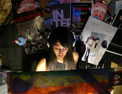 DJ Roya of Cherry Bomb helps kick off Obscura at the Ruby Room on Friday.