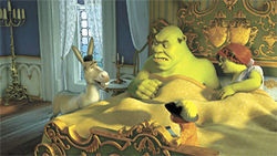 Shrek dreck: The ogre and his pals would?ve done better to stay in bed than make this ugly sequel.