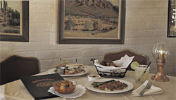 Where time stands still: El Chorro Lodge is a classic.
