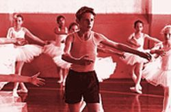 Jamie Bell as Billy Elliot pulls on our heartstrings with his heartfelt pirouettes.
