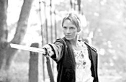 Sword and sorceress: Uma Thurman seeks revenge in Kill Bill Vol. 2.
