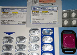 Some of Drew's medications