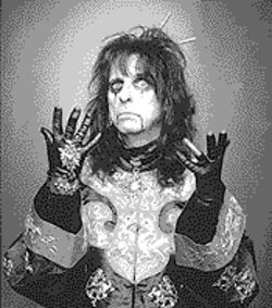 Who me?: Alice Cooper gets inducted
