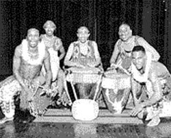 Kayaga! dances to the beat of a different drum, called a Ngoma.