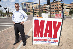 Former state legislator Steve May, who recently withdrew from the 2010 race, remains one of Arizona's most prominent gay Republicans.