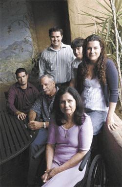 Dennis and Karen Dains (pictured with four of their five children) built Ajo Al&#039;s -- and now worry that they&#039;ll lose it.