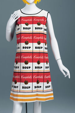 The Souper Dress by artist unknown