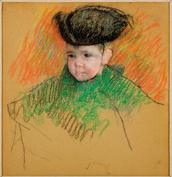 One of Mary Cassatts baby paintings