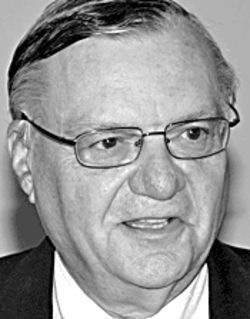 Joe Arpaio will coast to victory Nov. 2, but powerful people are watching his activities.