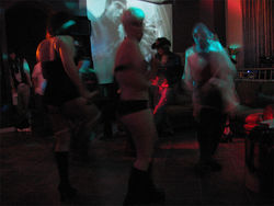 People can dance and drink all night Rasputin's, even mostly naked if they want to be.