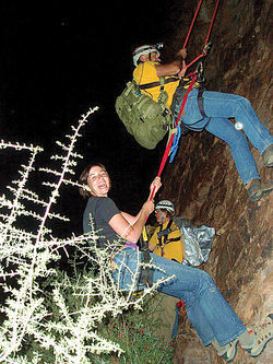 Emily Decker was trapped on a mountainside for hours before Superstition Search and Rescue saved her.