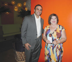 Penzone with Maricopa County Supervisor Mary Rose Wilcox