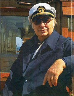 Church of Scientology founder L. Ron Hubbard