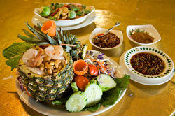 Traditional dishes from northeastern Thailand mean bold flavors at Pete's Thai Cuisine.