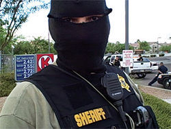 The face of ICE's 287(g) program in Maricopa County, one of Arpaio's deputies during last week's immigration sweep in the Southeast Valley.