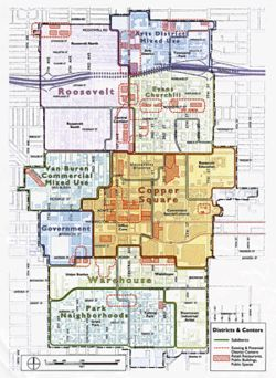 Click here to view this map showing Phoenix&#039;s possible future districts.
