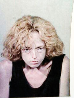 Jeanne Allen in a 2005 sheriff&#039;s booking photo for drug possession.