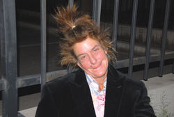 Lisa Stufano in April 2010, after being homeless for almost 14 years.