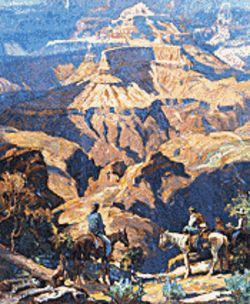 The Mesa Southwest Museum shows off Carl Oscar Borg's vision of the American West.