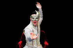 Circus act: Stovall outclasses his classmates in Pippin.