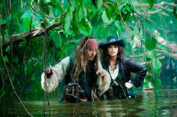 Bogged down: Johnny Depp and Penelope Cruz can't save the dreary Pirates of the Caribbean: On Stranger Tides.