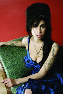 Amy Winehouse: She won't go, go, go.