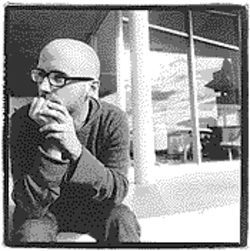 Bald may be beautiful, but it can also be brusque: Moby prefers to let his music speak for him.