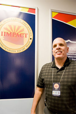 Lieutenant Bob Smart, director of IIMPACT.