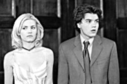 Skin city: Elisha Cuthbert is the title character, and Emile Hirsch the neighbor in The Girl Next Door.