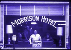 Morrison Hotel: The cover of the Doors' 1969 album is one of Henry Diltz's most famous images.