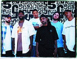 Holding onto what's golden: Jurassic 5 mixes old-school vibes with postmodern beats.