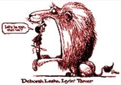 Arizona Republic cartoonist Steve Benson drew this tribute to Deborah Laake especially for the Arizona Press Club.