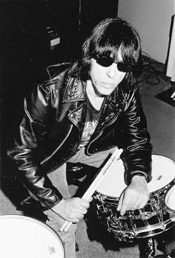 Marky Ramone spins at the debut of Pretty Vacant! on Friday.