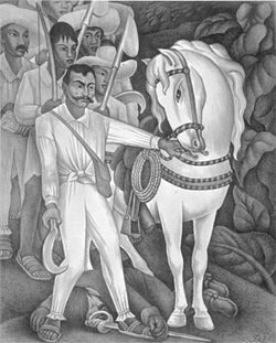 Zapata by Diego Rivera