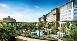 An artist's rendering of the Tohono O'odham Nation's West Valley Resort.