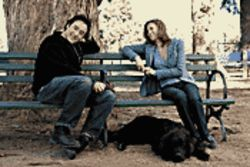 Release the hounds!: John Cusack and Diane Lane get cozy in Must Love Dogs.