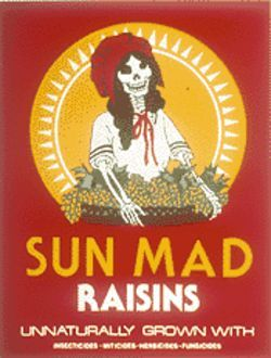 Sun Mad, by Ester Hernndez, 1982