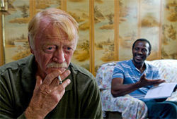 Red West and Souléymane Sy Savané in Goodbye Solo.
