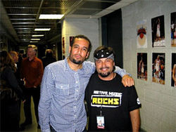 Ben Harper and Lomayesva at Madison Square Garden.