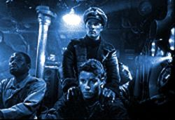 Sub story: Clockwise from top, Matthew McConaughey, Thomas Guiry, Will Estes and T.C. Carson in U-571.