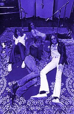 "Creatures of the Hollywood hills: The Stooges laid out during the making of their ""L.A."" album, Fun House."