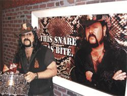 Meet a Cowboy From Hell: Vinnie Paul Abbott talks about Rebel Meets Rebel.
