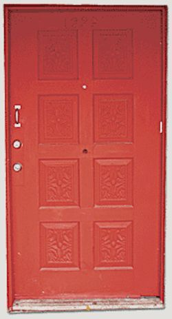 I see a red door: Grand Avenue gallery hosts three artists this month.