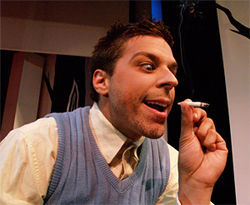 Gimme Moore: Actor Joseph takes a hit.