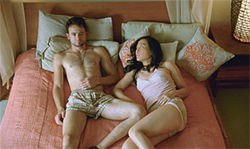 Raphael Barker and Sook-Yin Lee in John Cameron Mitchells extremely  sex-positive Shortbus
