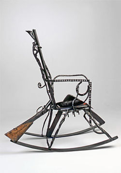 Shotgun Rocker by Ira Wiesenfeld.