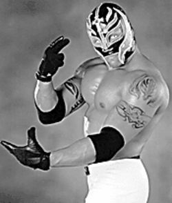 Rey Mysterio, Jr. will be among the bevy of muscle men at WWE's Smackdown.