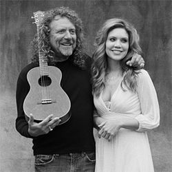 Just duet: Robert Plant and Alison Krauss.